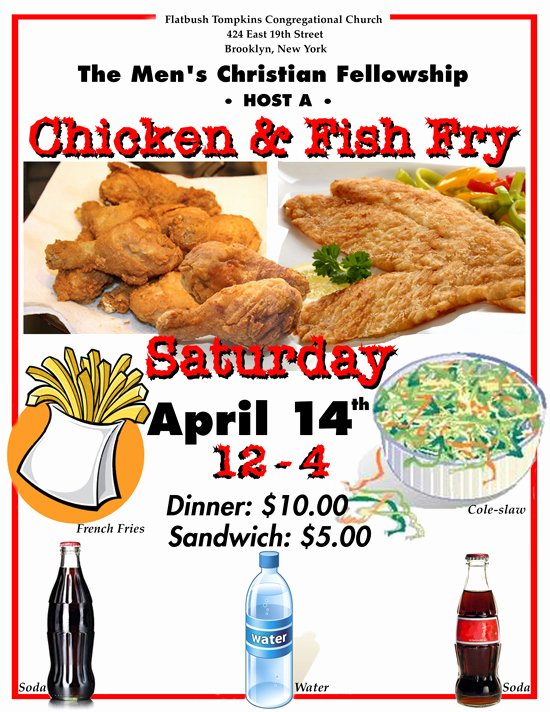Free Fish Fry Flyer Template Best Of 10 Best S Of Fried Flyers Chicken Dinners Chicken and Fish Fry Dinner Flyer Chicken