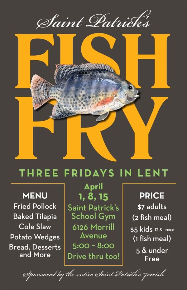 Free Fish Fry Flyer Template Elegant 60 Best Charity & Fundraiser Templates Images On Pinterest