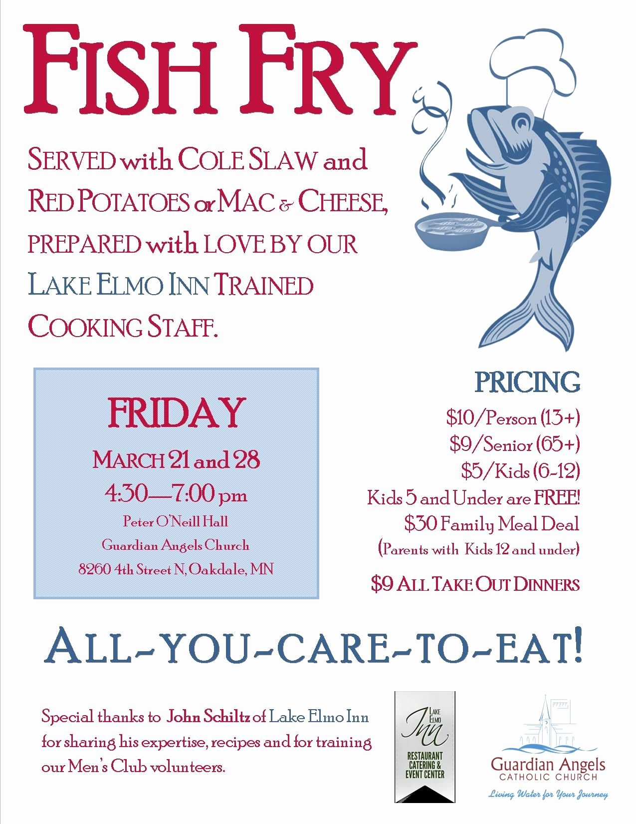 Free Fish Fry Flyer Template Inspirational Fish Fry event Posters