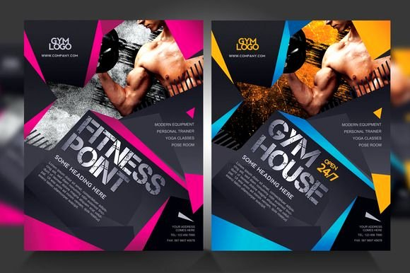 Free Fitness Flyer Template Beautiful Check Out Fitness Gym Flyer V1 by Satgur Design Studio On Creative Market Vigor Ad