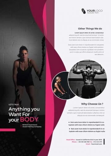 Free Fitness Flyer Template Best Of Download Free Fitness Gym Flyer Psd Templates for Shop