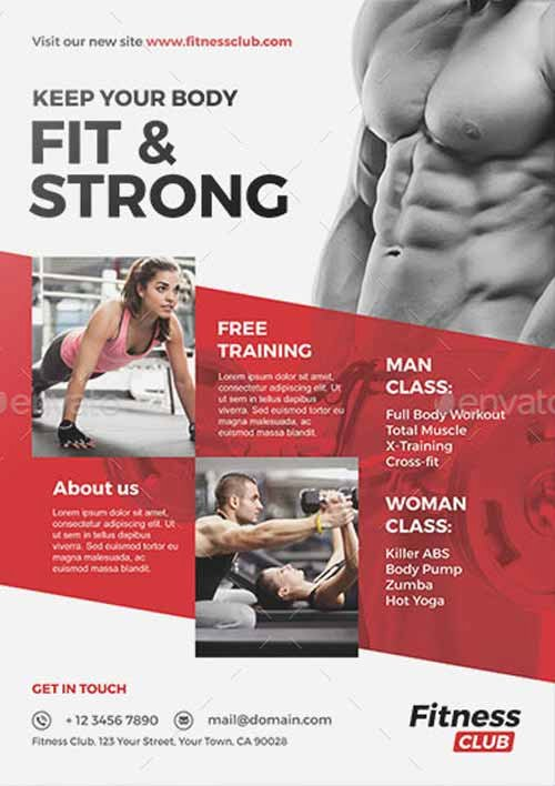 Free Fitness Flyer Template Fresh Ffflyer