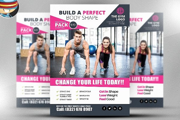 Free Fitness Flyer Template Lovely 38 Free Flyer Templates Word Pdf Psd Ai Vector Eps format Download