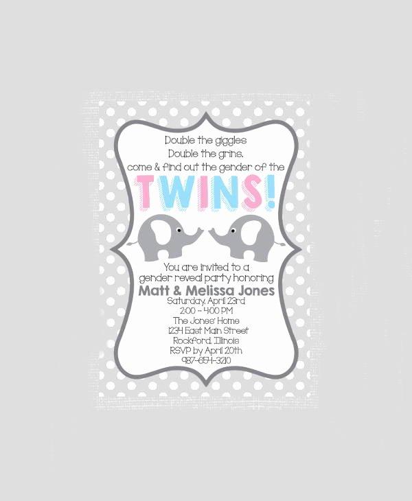 Free Gender Reveal Templates Unique 12 Gender Reveal Party Invitation Designs & Templates Psd Ai