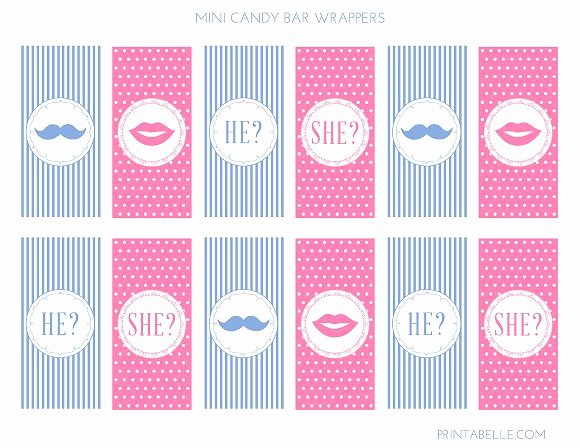 Free Gender Reveal Templates Unique Download these Cute Free Gender Reveal Printables