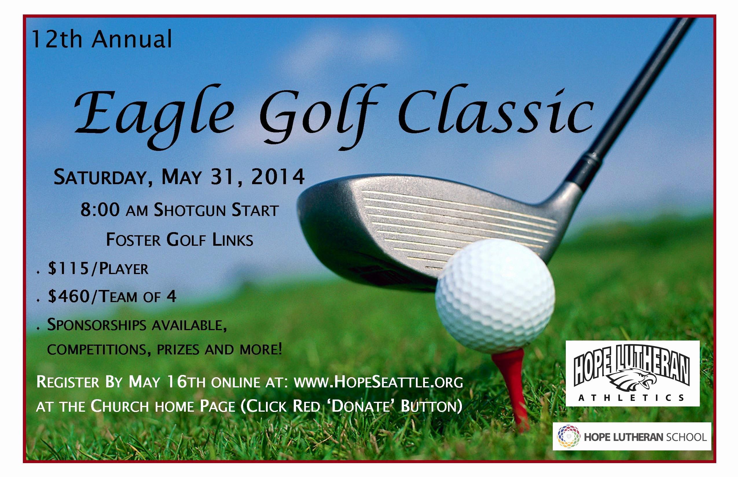 Free Golf Flyer Templates Inspirational Golf tournament