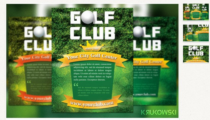 Free Golf Flyer Templates New 5 Free Golf Outing Flyer Templates
