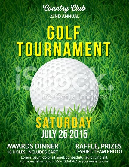 Free Golf tournament Flyer Template Unique Vector Golf tournament Poster Invitation Template Field Of Flyers
