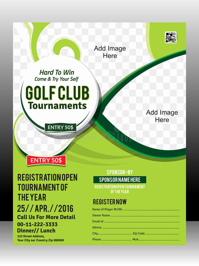 Free Golf tournament Flyers Templates Awesome Golf tournament Flyer Template Design Illustration Stock Vector Illustration Of Abstract Hole
