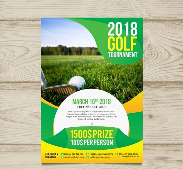 Free Golf tournament Flyers Templates Beautiful 27 Golf tournament Flyer Templates Free & Premium Download