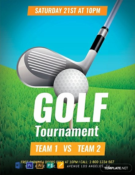 Free Golf tournament Flyers Templates Lovely Free Golf tournament Flyer Template Download 1578 Flyers In Psd Illustrator Word Publisher