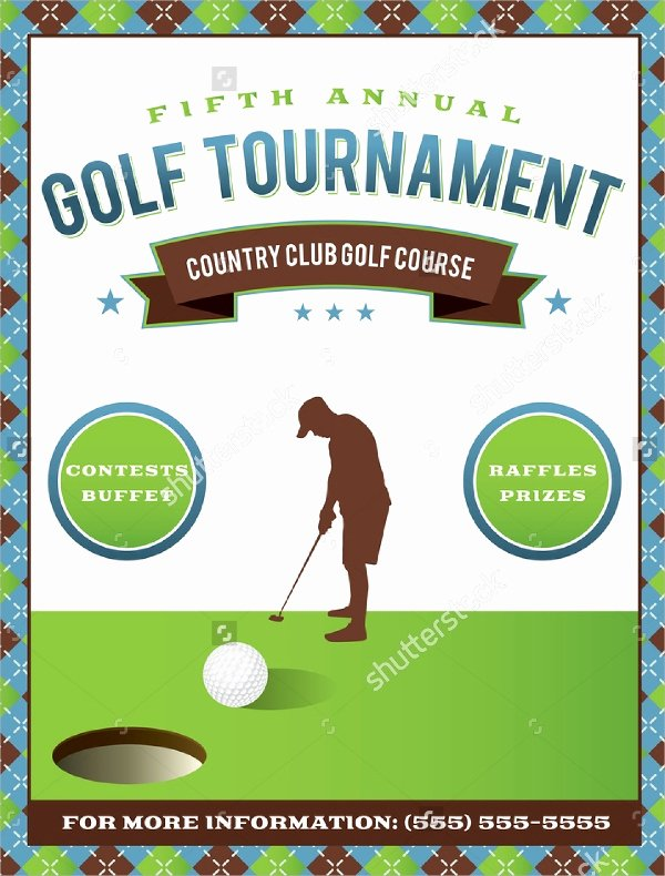 Free Golf tournament Flyers Templates Lovely Golf tournament Flyer Template 24 Download In Vector Eps Psd