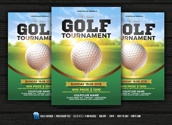 Free Golf tournament Flyers Templates Luxury Free Kickball tournament Flyer Template Designtube Creative Design Content
