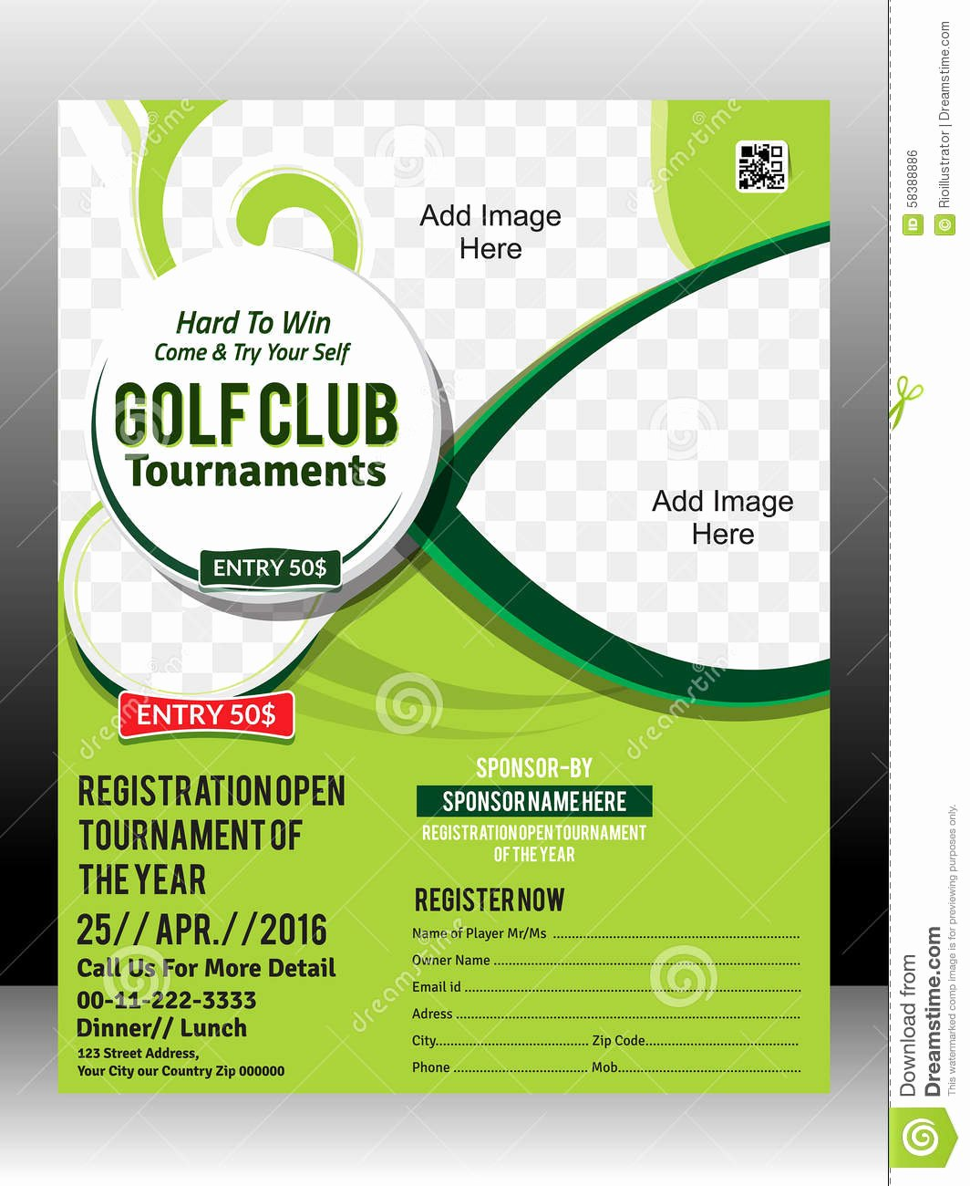 Free Golf tournament Flyers Templates New Free Golf tournament Flyer Template – Emmamcintyrephotography