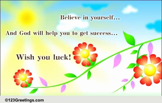 Free Good Luck Cards Awesome Wish You Luck Free Good Luck Ecards Greeting Cards