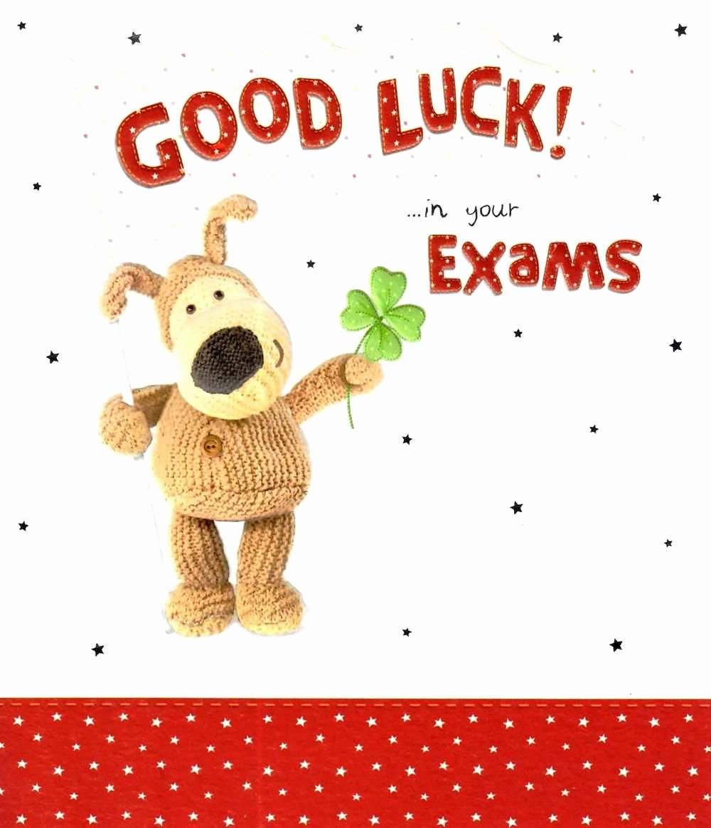 Free Good Luck Cards Fresh Boofle Good Luck In Your Exams Greeting Card All the Best Cards