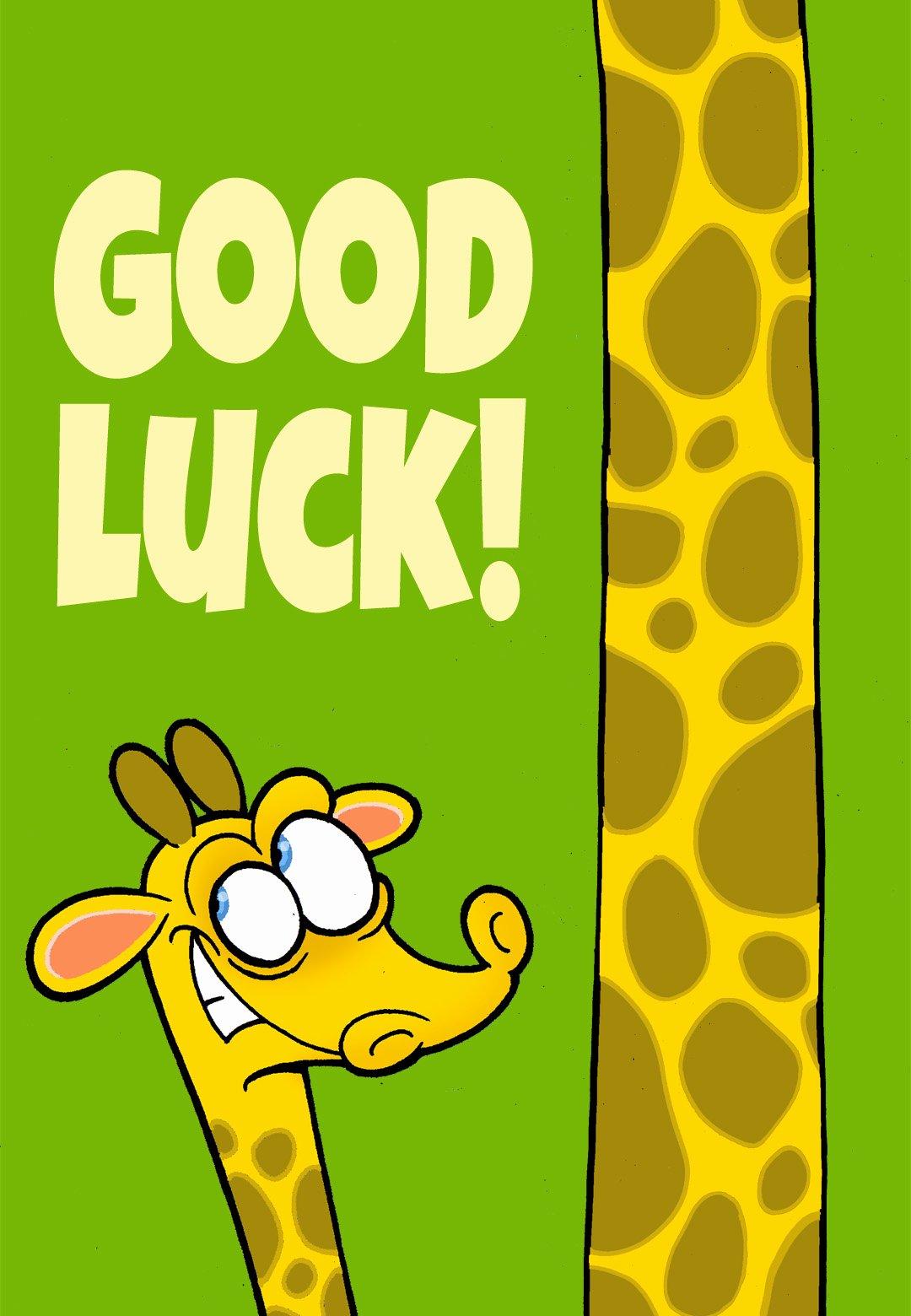 Free Good Luck Cards Inspirational Good Luck Good Luck Card Free