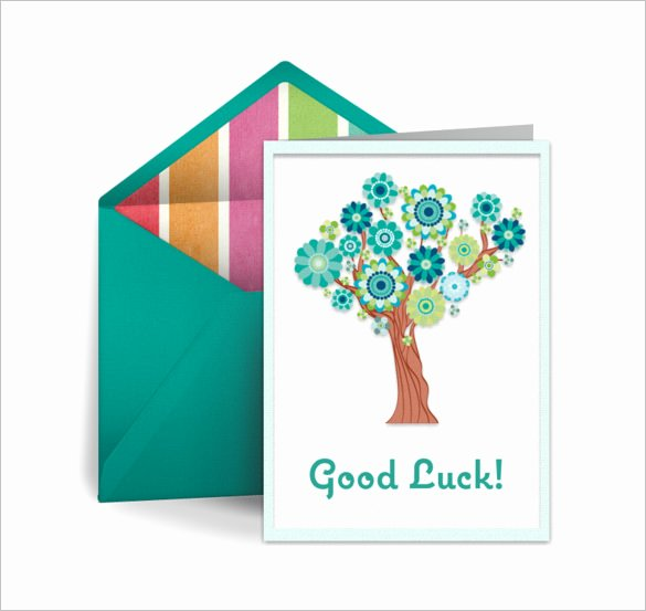 Free Good Luck Cards Luxury 18 Good Luck Card Templates Psd Ai Eps