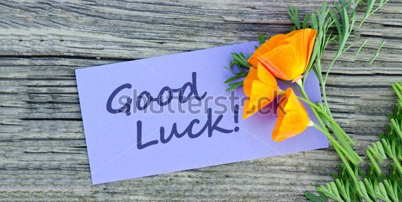 Free Good Luck Cards Unique 18 Good Luck Card Templates Psd Ai Eps
