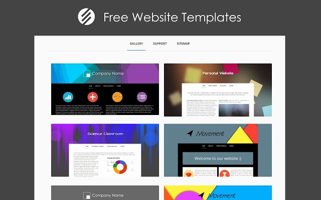 Free Google Sites Template New Free Website Templates Chrome Web Store