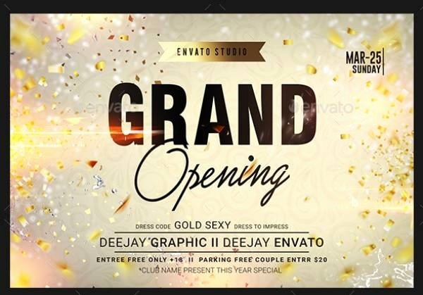 Free Grand Opening Flyer Template Elegant 10 Grand Opening Flyer Templates Illustrator Indesign Ms Word Pages Shop Publisher