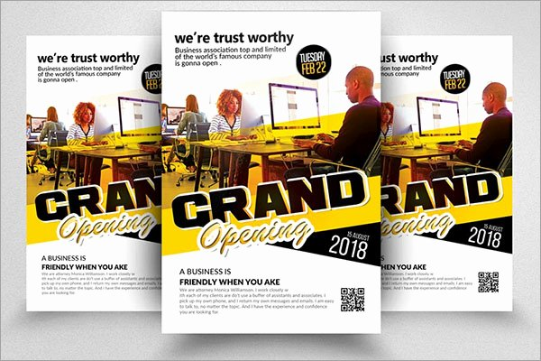 Free Grand Opening Flyer Template Elegant 48 Grand Opening Flyer Templates Free & Premium Psd Downloads