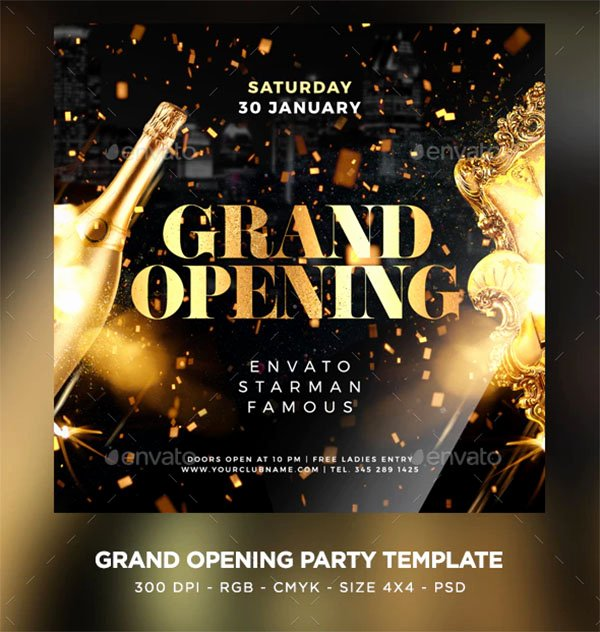Free Grand Opening Flyer Template Fresh 48 Grand Opening Flyer Templates Free & Premium Psd Downloads