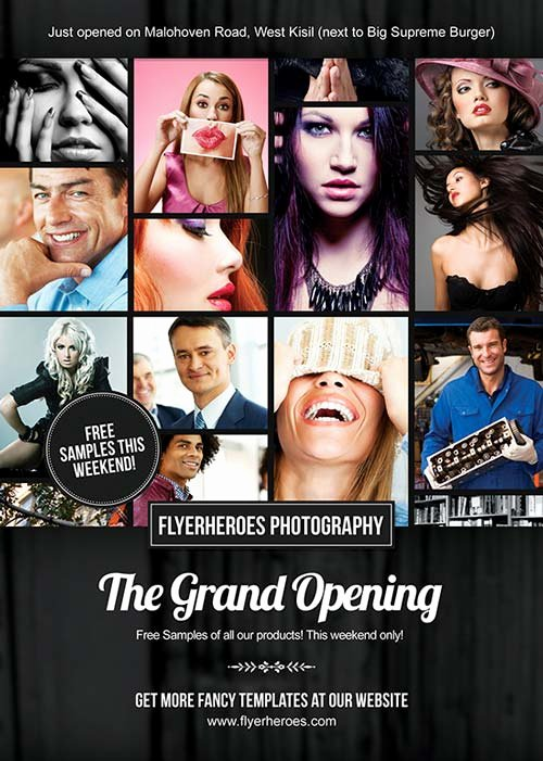 Free Grand Opening Flyer Template Lovely Download Free Grand Opening Graphy Flyer Template