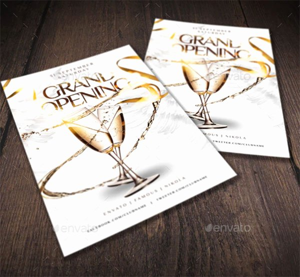 Free Grand Opening Flyer Template New 48 Grand Opening Flyer Templates Free & Premium Psd Downloads