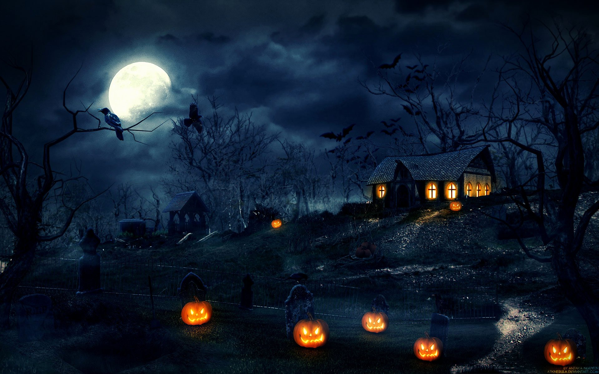Free Halloween Background Images Lovely Free Scary Halloween Backgrounds & Wallpaper Collection 2014 – Designbolts