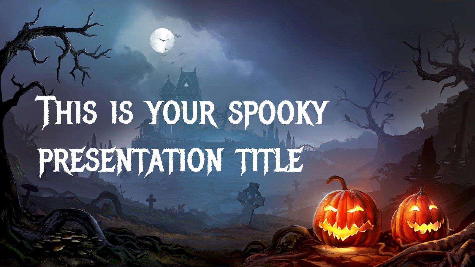 Free Halloween Powerpoint Templates Beautiful Halloween 2017 Free Powerpoint Template & Google Slides theme Freebie Supply