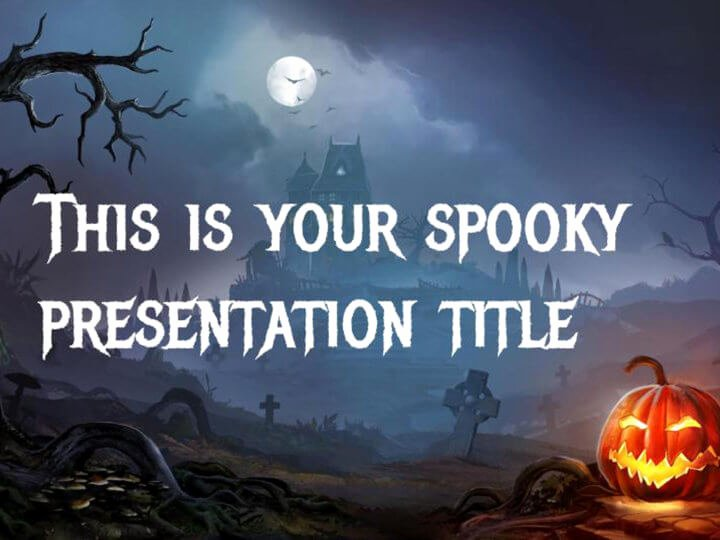 Free Halloween Powerpoint Templates Fresh Free Google Slides or Powerpoint Template for Halloween Dark and Scary