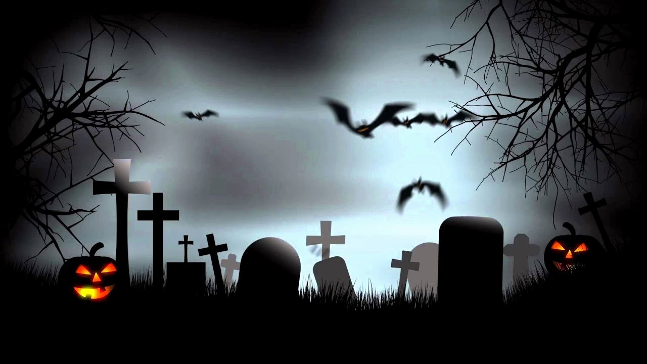 Free Halloween Powerpoint Templates Fresh Halloween Graveyard Background after Effects Template