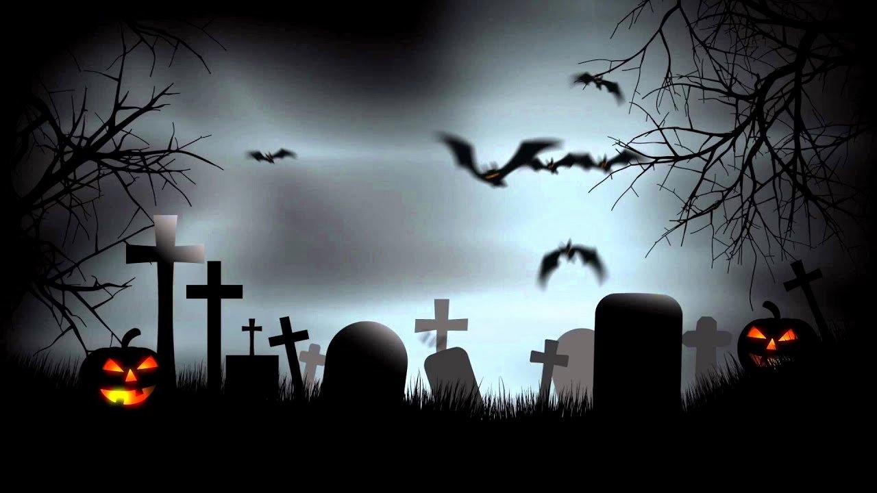 Free Halloween Powerpoint Templates Fresh Halloween Graveyard Background after Effects Template