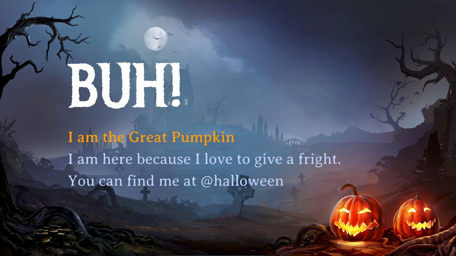 Free Halloween Powerpoint Templates Inspirational Halloween 2017 Free Powerpoint Template & Google Slides theme Freebie Supply