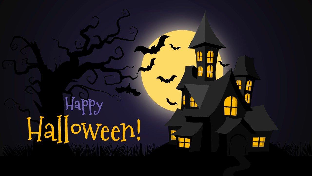 Free Halloween Powerpoint Templates Unique Free Halloween Powerpoint Background Slidemodel