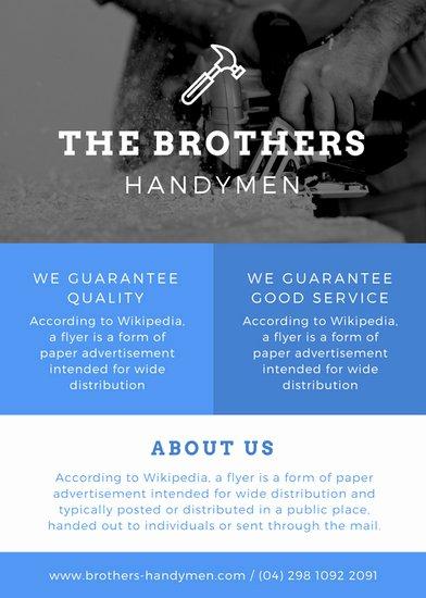 Free Handyman Flyer Templates Best Of Customize 297 Business Flyer Templates Online Canva