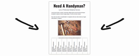 Free Handyman Flyer Templates Best Of Download A Free Handyman Flyer Template