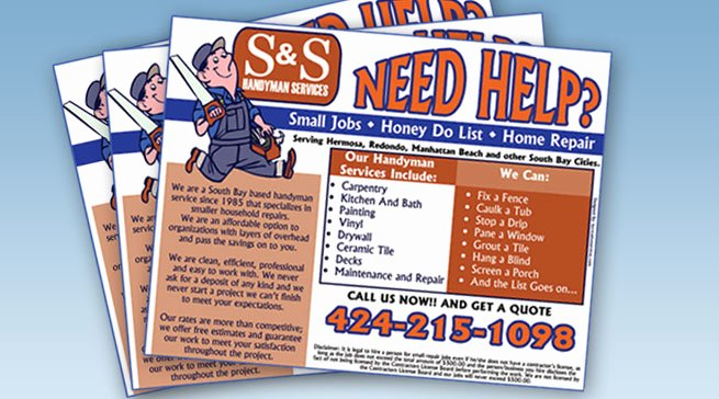 Free Handyman Flyer Templates Lovely Famous Handyman Flyer Template Free