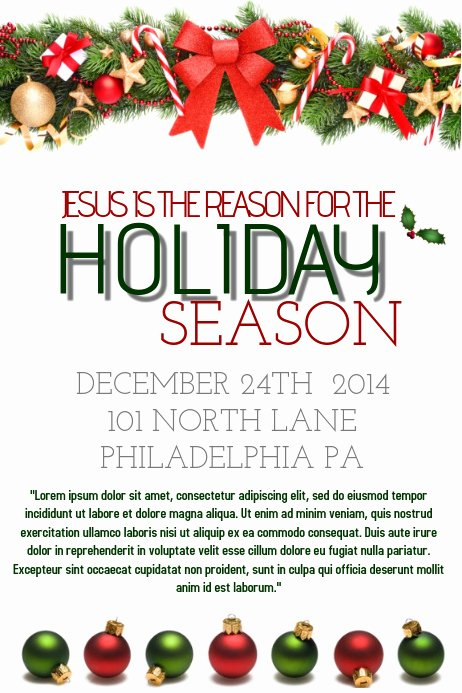 Free Holiday Flyer Template Beautiful Holiday Flyer Template