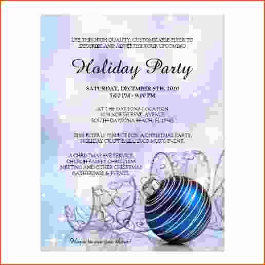 Free Holiday Flyer Template Luxury 5 Holiday Flyer Templates Free Bookletemplate