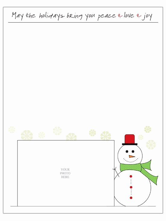 Free Holiday Letter Templates Beautiful Free Christmas Letter Templates