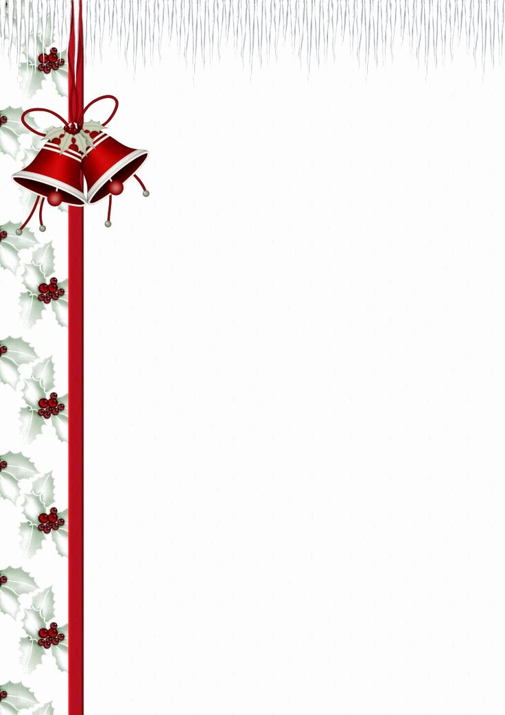 Free Holiday Letter Templates Fresh Best 25 Christmas Stationery Ideas On Pinterest