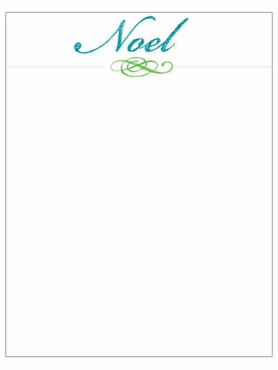 Free Holiday Letter Templates Inspirational Free Christmas Letter Templates