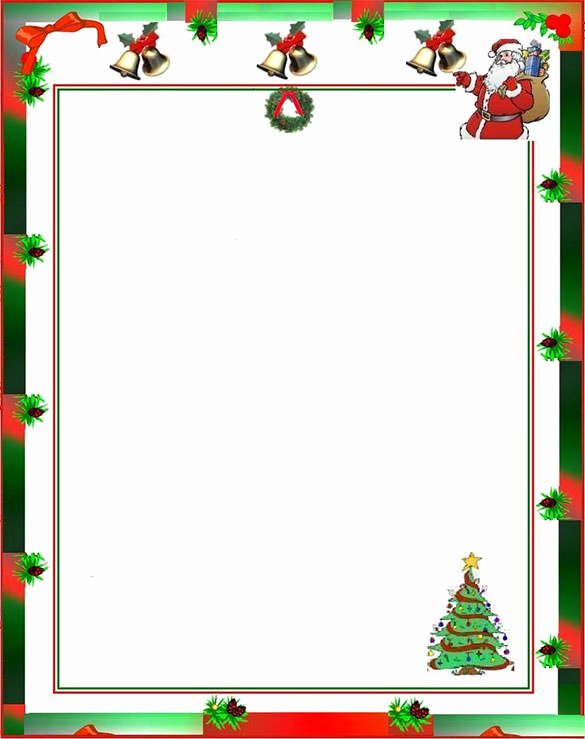 Free Holiday Letter Templates Luxury 17 Christmas Paper Templates Doc Psd Apple Pages
