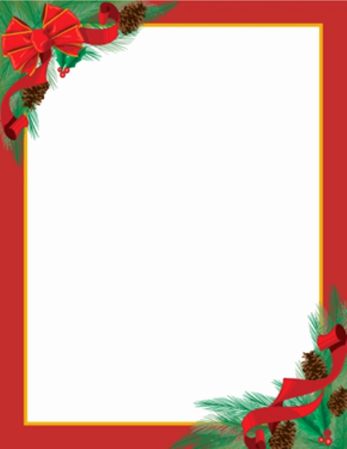 Free Holiday Letter Templates Unique Christmas Letterhead On Pinterest