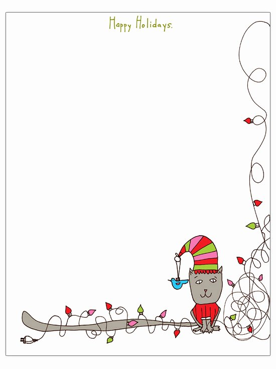 Free Holiday Newsletter Templates Beautiful Christmas Letter Templates to for Free Engaged