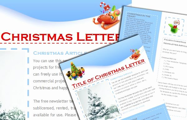 Free Holiday Newsletter Templates Best Of Pin by Word Draw On Free Templates