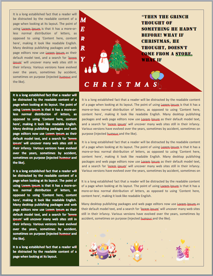 Free Holiday Newsletter Templates Elegant Christmas Email Templates for the Up Ing Holiday Mailing