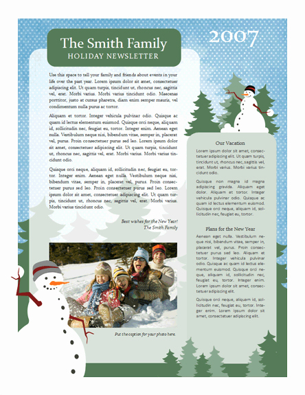 Free Holiday Newsletter Templates Fresh 7 Useful Christmas Cards Christmas Cards